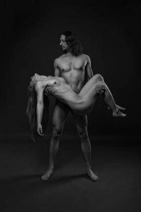 Mann Frau Pärchen Aktfotografie künstlerisch ästhetisch nackt Brust Busen weiblich männlich Fotografie Stufio