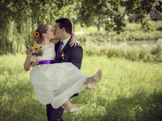 Paarshooting Hochzeitsfotografie Fotografie Kleid Brautstrauß