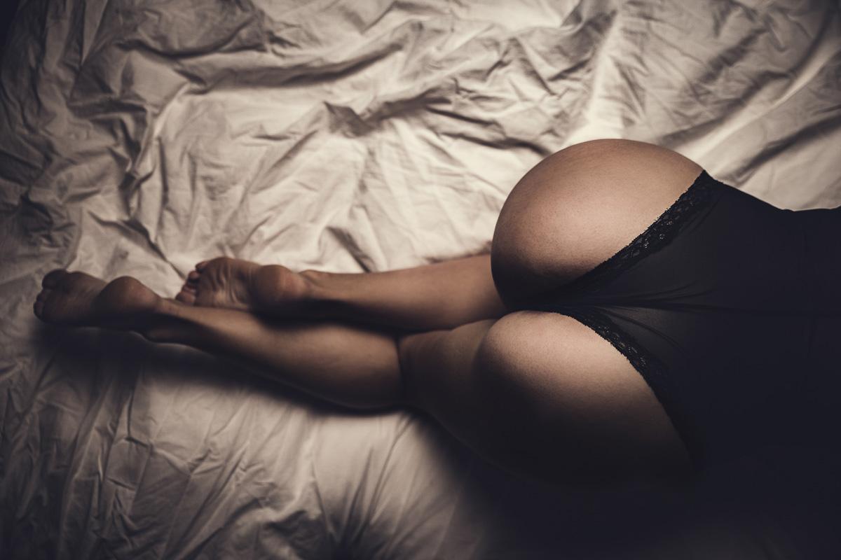 sexy Boudoir Fotografie Body Unterwäsche Po Booty