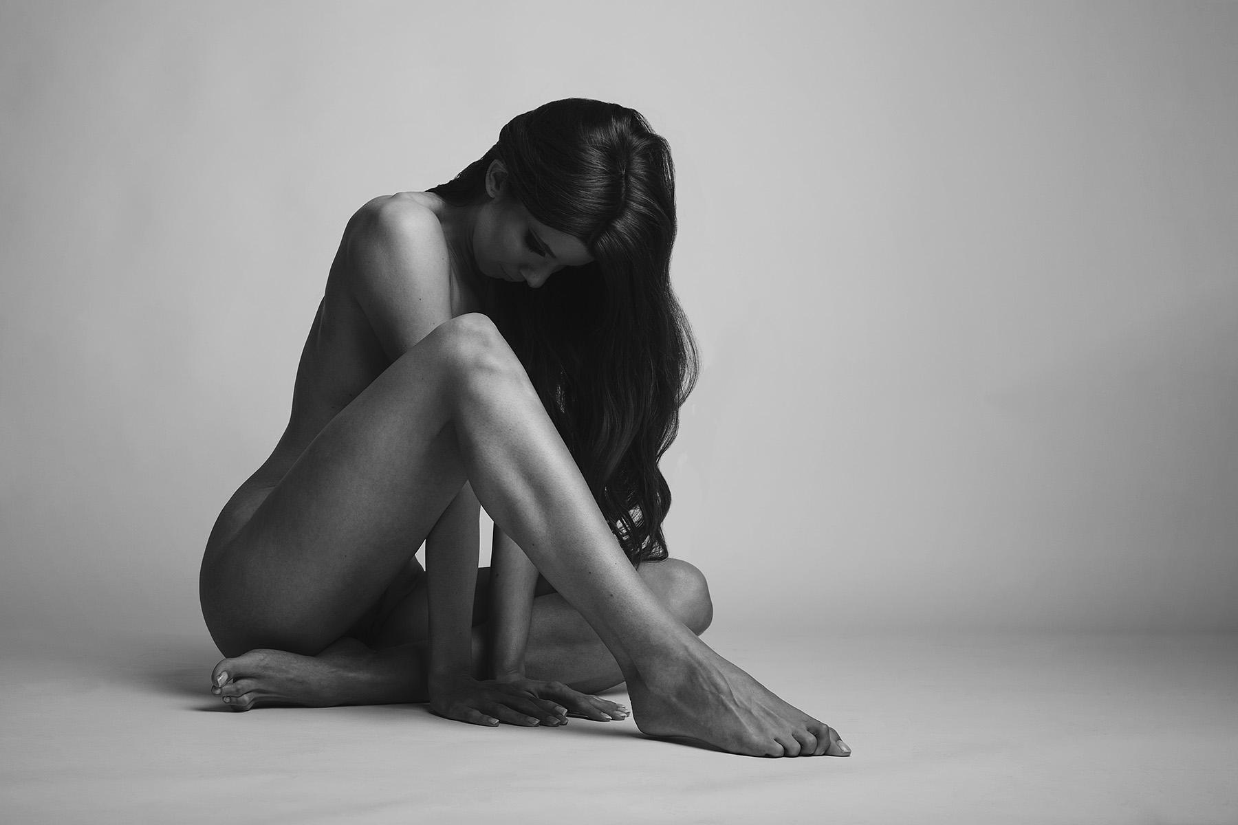 klassisch Aktfotografie Studiofotografie nackt Frau weiblich