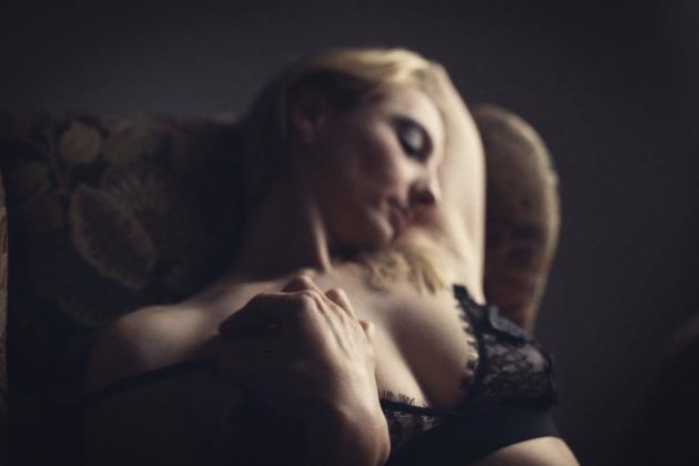 weibliche Boudoir Fotografie Unterwäsche erotik